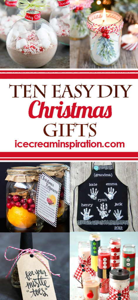 10 Easy DIY Christmas Gifts - Beautiful Life and Home