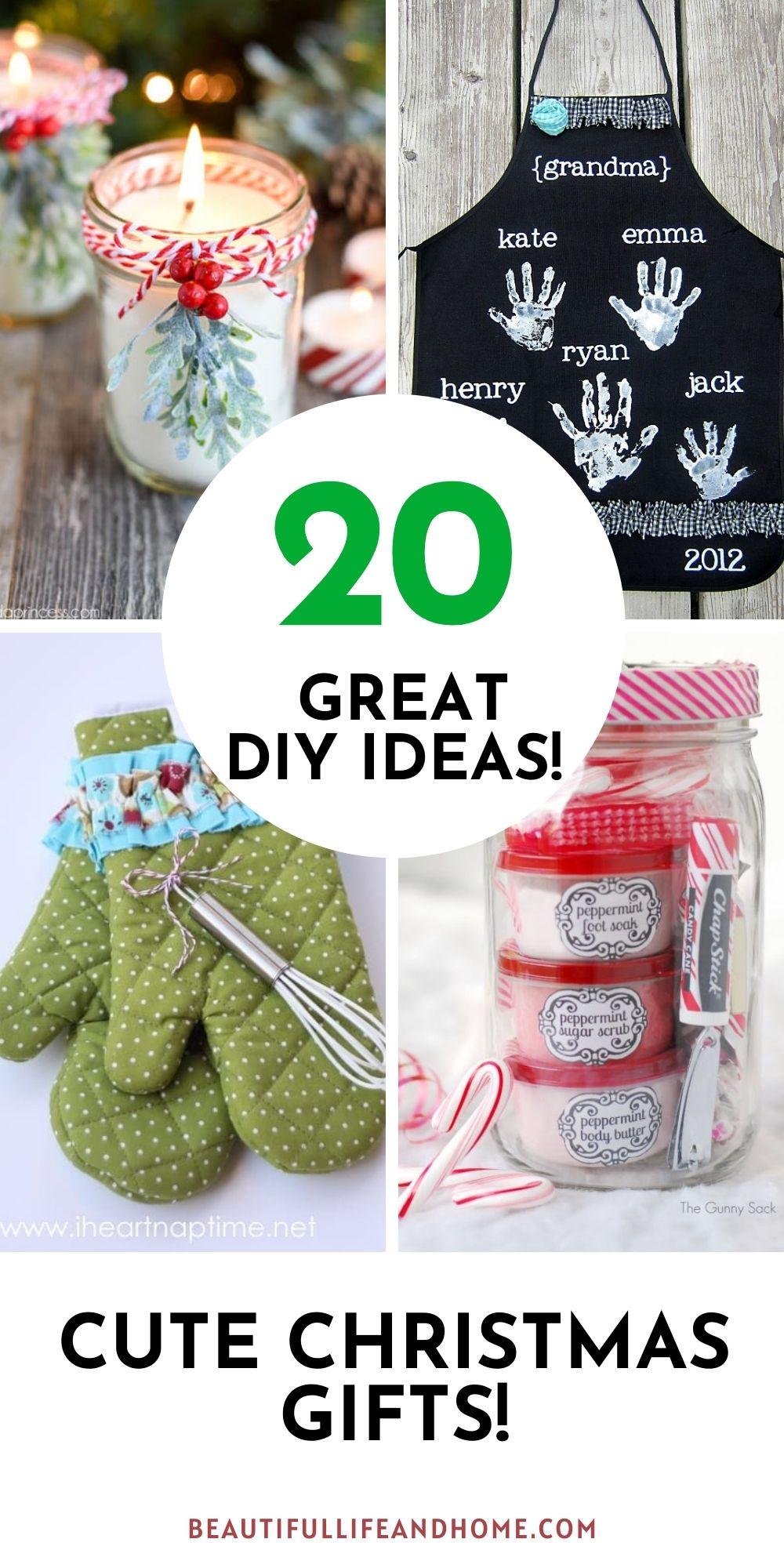 20 Cute Christmas Gifts (DIY)