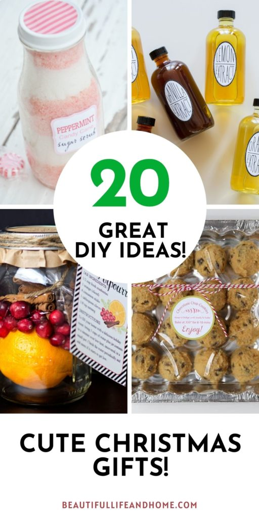 Make the perfect gift for the holiday season with these 20 cheap DIY Christmas gifts!