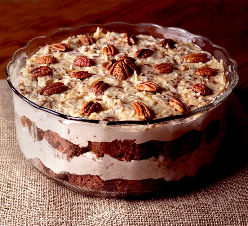 German Chocolate Cake Cheesecake Style