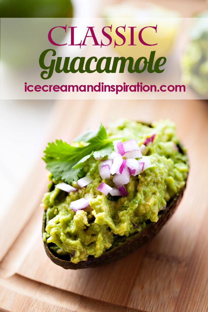 Use this Classic Guacamole to dress up all your dishes. Nothing beats the amazing color, texture, and flavor of guacamole! Guacamole recipe, easy guacamole
