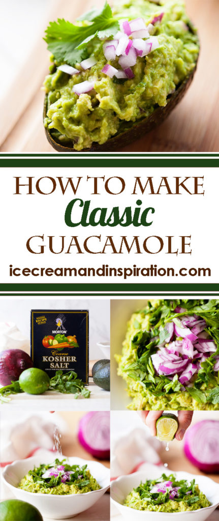 Nothing beats this classic guacamole! Learn how to make classic guacamole with these step-by-step instructions.