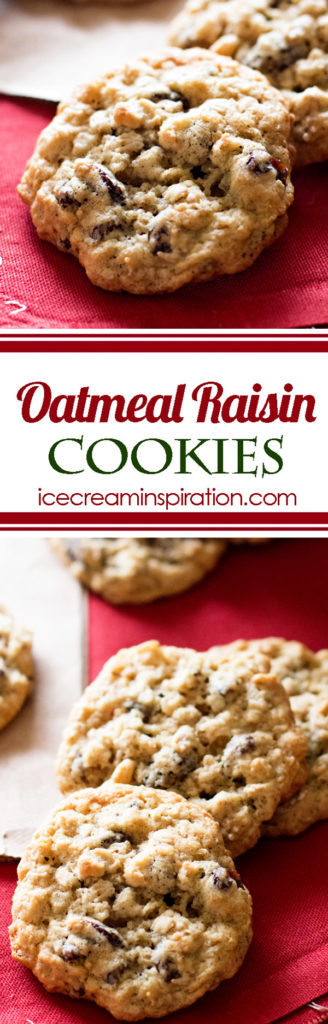 The only Oatmeal Raisin Cookie recipe you'll ever need. Just like the kind your grandma used to make.