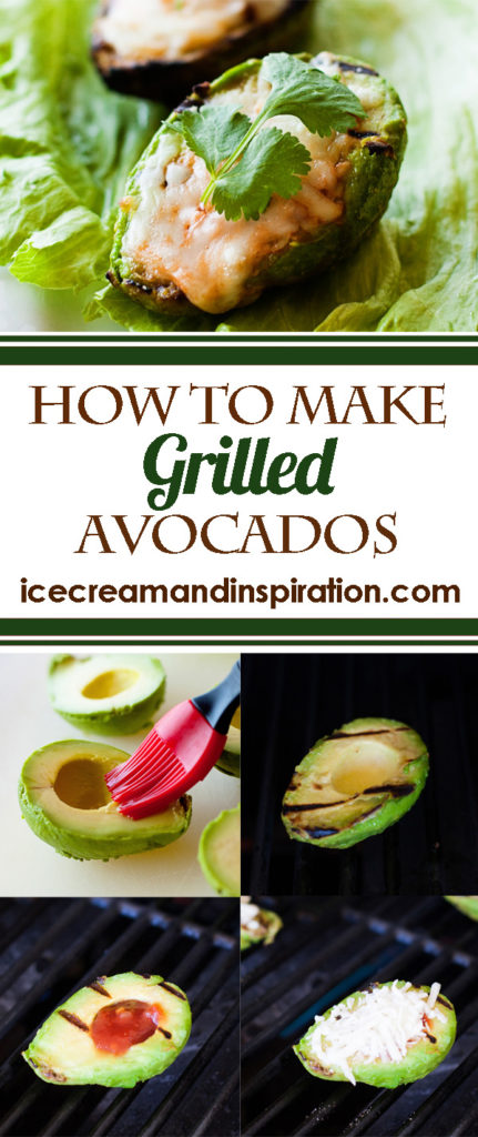 These easy These easy Grilled Avocados are filled with salsa and mozzarella cheese and are so buttery and smooth. The flavor combination is out of this world!