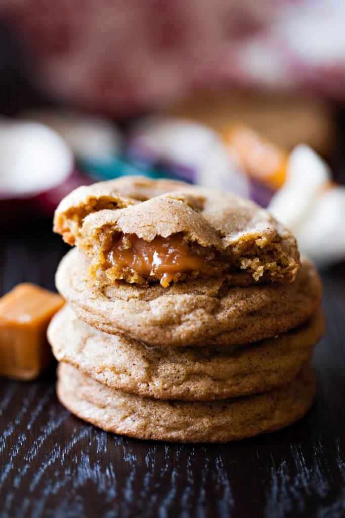 Pumpkin Caramel Snickerdoodles