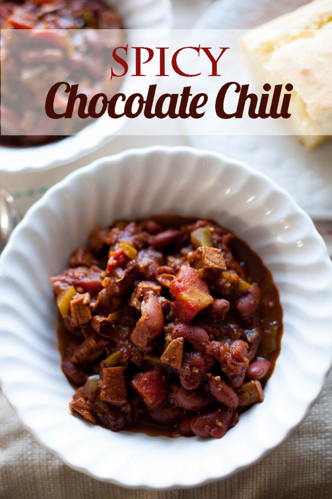 The best chili ever! This award-winning Spicy Chocolate Chili is going to become your new favorite chili recipe!