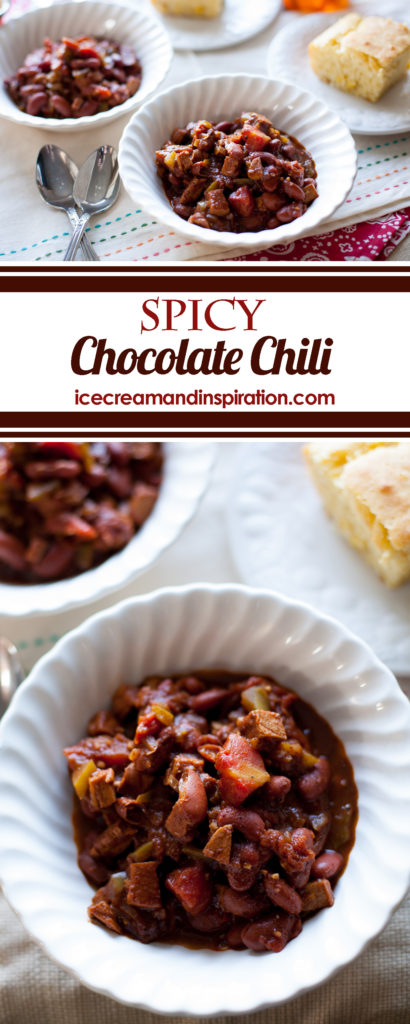 This award-winning Spicy Chocolate Chili is going to become your new favorite chili recipe! Chipoltle chili, best chili recipe