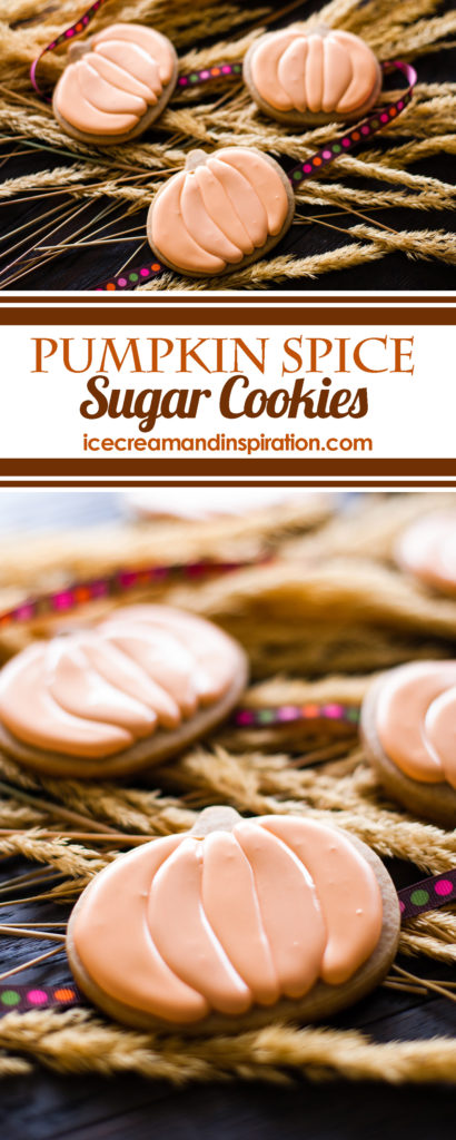 These Pumpkin Spice Sugar Cookies from Sally's Cookie Addiction are the best cookies for fall! So fun to make, and they look amazing! Pumpkin cookies, pumpkin cookie recipes, best pumpkin cookies