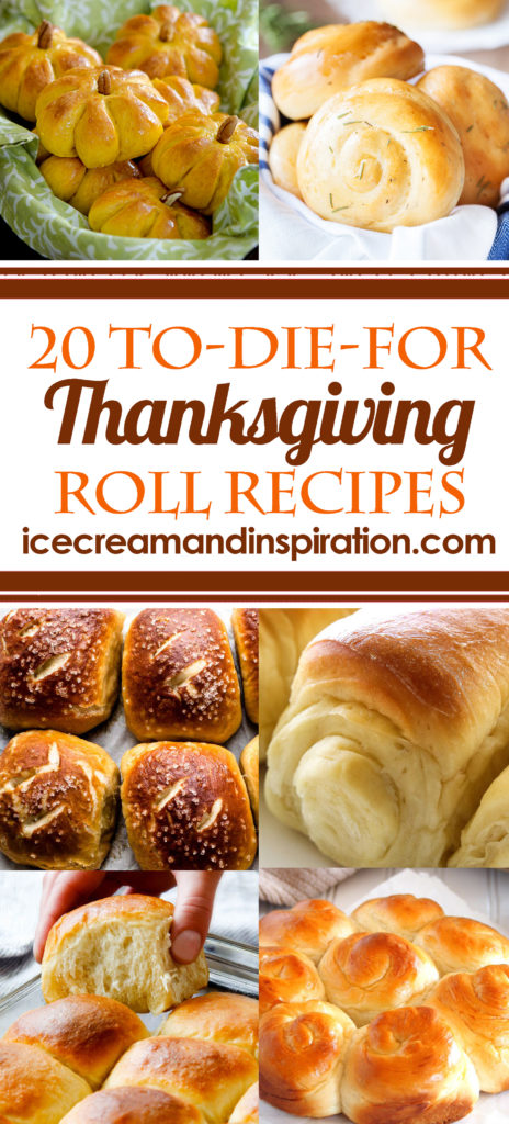 You'll find the perfect Thanksgiving roll recipe here with this collection of 20 To-Die-For Thanksgiving Roll Recipes. There are even gluten-free and vegan roll recipes!