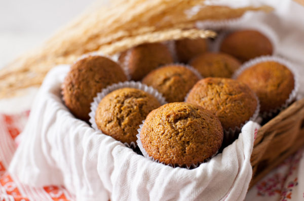 Whole Wheat Pumpkin Muffins