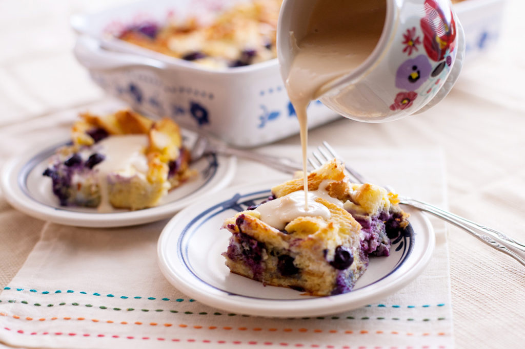 Overnight Blueberry Breakfast Bake