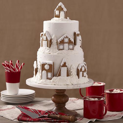 How To Ice Mini Wedding Cakes