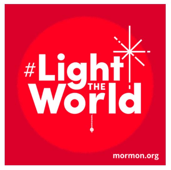 Light the World this Christmas by watching short inspirational videos and getting great ideas for easy service you can do this holiday season!