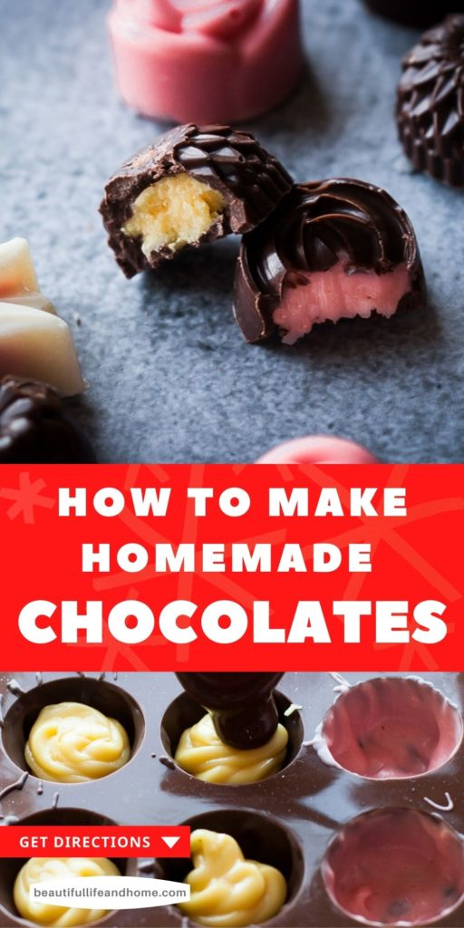 Ever wonder how they get that delicious cream filling inside those bite-sized chocolates? Now you can make them at home! Create your own, custom flavors and colors! Get ready to impress family and friends with Homemade Filled Chocolates.