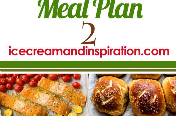 Weekly Meal Plan 2