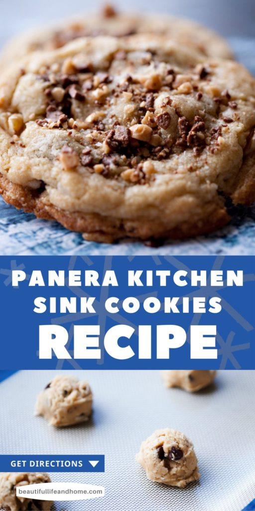 Copycat Panera Kitchen Sink Cookies Recipe.