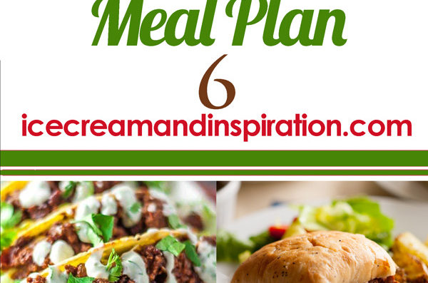 Weekly Meal Plan 6