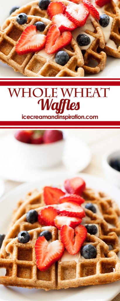 Eat a wholesome, healthy breakfast with these Whole Wheat Waffles. Full of fiber, antioxidants and omega-3s, they are the perfect start to your day. If you want to make them low-sugar, you'll be surprised that you need to replace milk with....