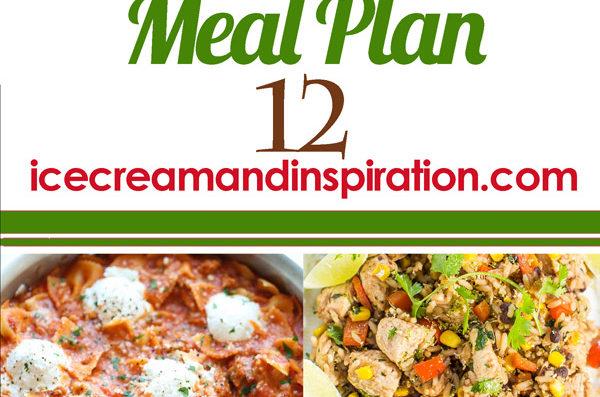 Weekly Meal Plan 12