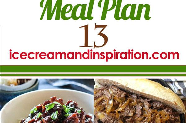 Weekly Meal Plan 13