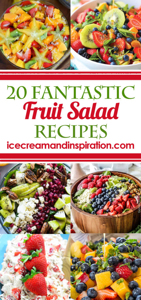 With summer barbecues just around the corner, it's time to get together some wonderful fruit salads to share! Take a look at these 20 Fantastic Fruit Salads and add some to your summer menus!