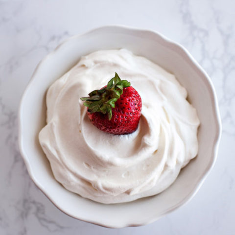 Sugar-free Whipped Cream