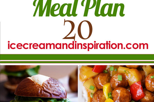 Weekly Meal Plan 20