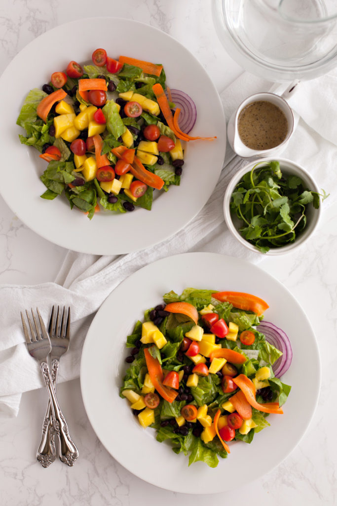 Mango Black Bean Salad.