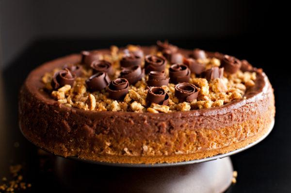 Easy Chocolate Cheesecake