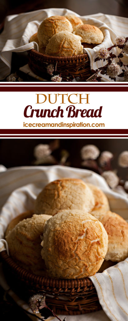 This recipe for Dutch Crunch Bread (or Tiger Bread) will become your new favorite! So unique with its special crackly top and soft center, this specialty bread famous in San Francisco will make its way into your kitchen and will never leave!