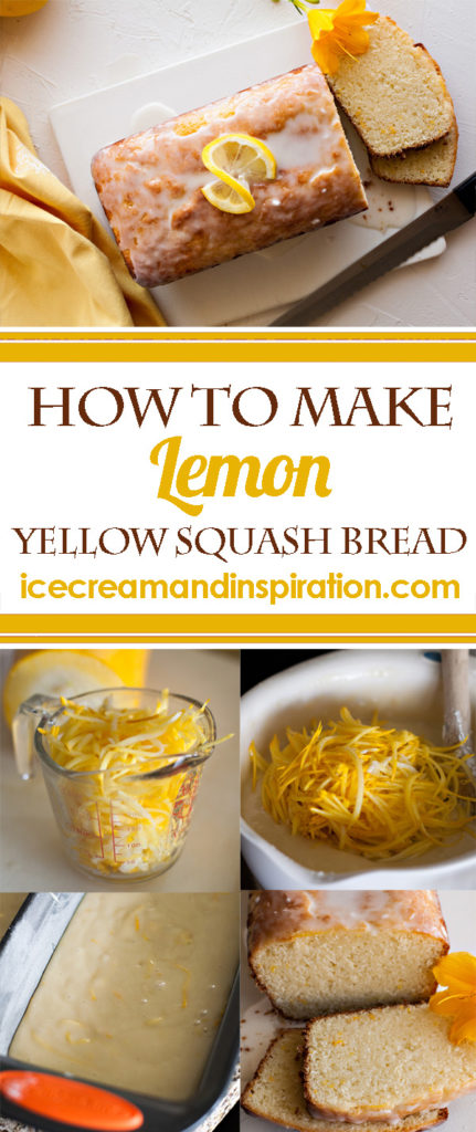 How to make Lemon Yellow Squash Bread, step by step. Super moist, delicious lemon bread. The perfect way to use up all that squash from your garden!