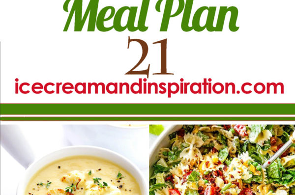 Weekly Meal Plan 21