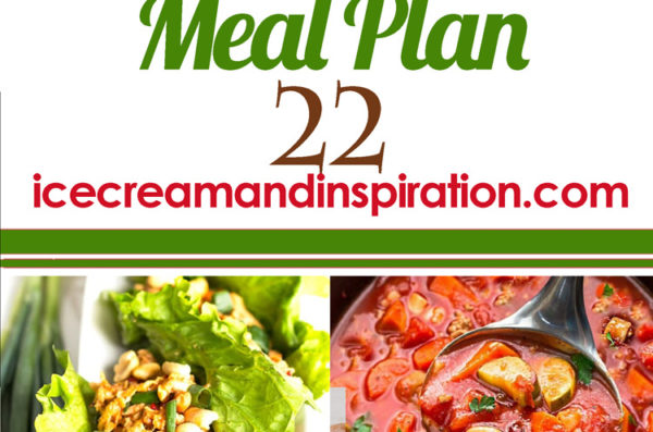 Weekly Meal Plan 22