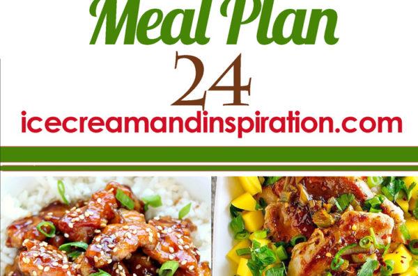 Weekly Menu Plan 24