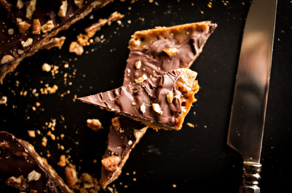 Graham Cracker Toffee Crack