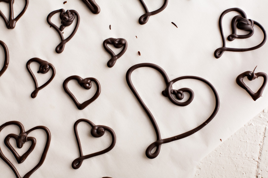 How to Make Fancy Chocolate Decorations