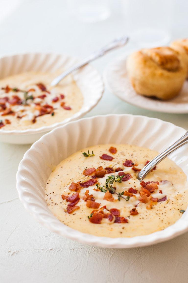 Bacon Cheddar Soup