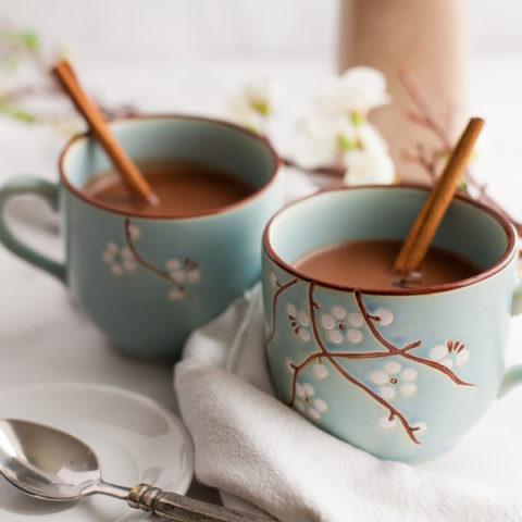 Dark Chocolate Chai Latte