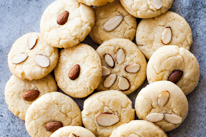 Chinese Almond Cookies Recipe