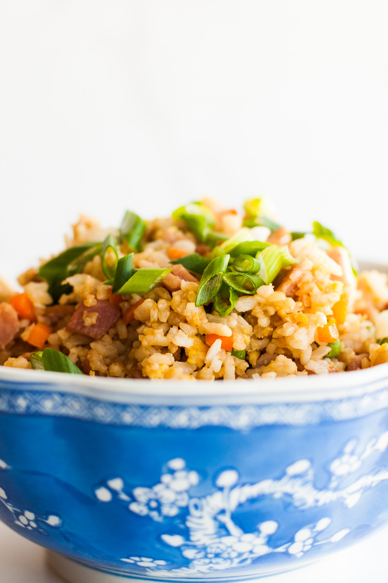 Easy restaurant style Chinese fried rice recipe!