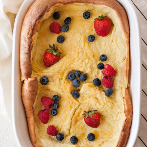 Gluten-free, Dairy-free, Sugar-free German Pancakes Recipe