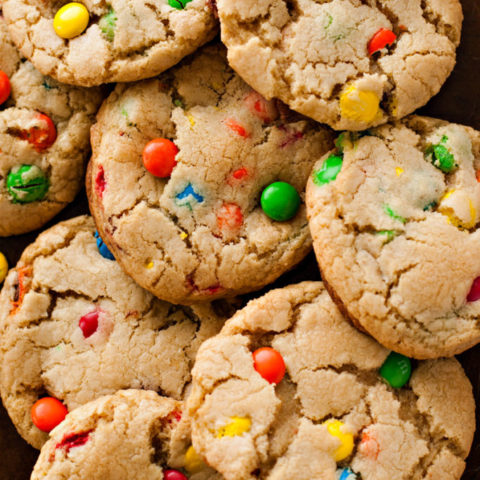 Jumbo M&M Cookies