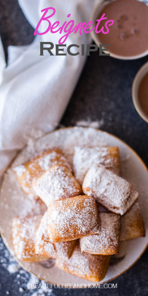Make beignets with this step-by-step recipe with pictures for each step. Perfectly soft, pillowy, and delicious.