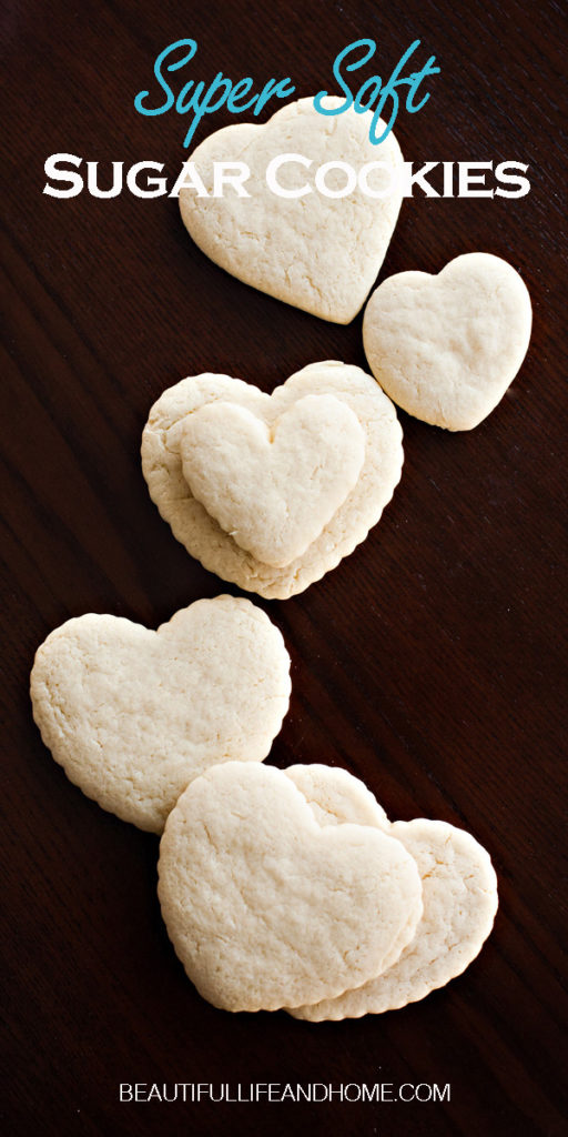 What's the secret ingredient in this Soft Sugar Cookies recipe? It's sour cream! Keeps your cookies soft for a full week!