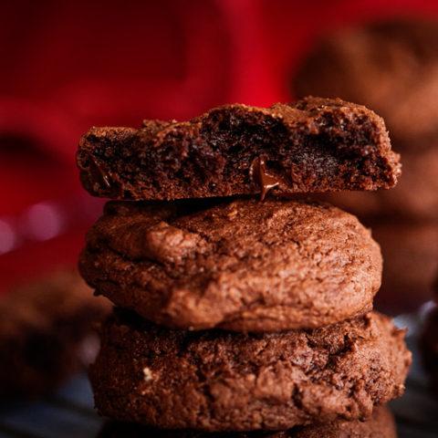 Mexican Chocolate Cookies -- RubySnap Copycat