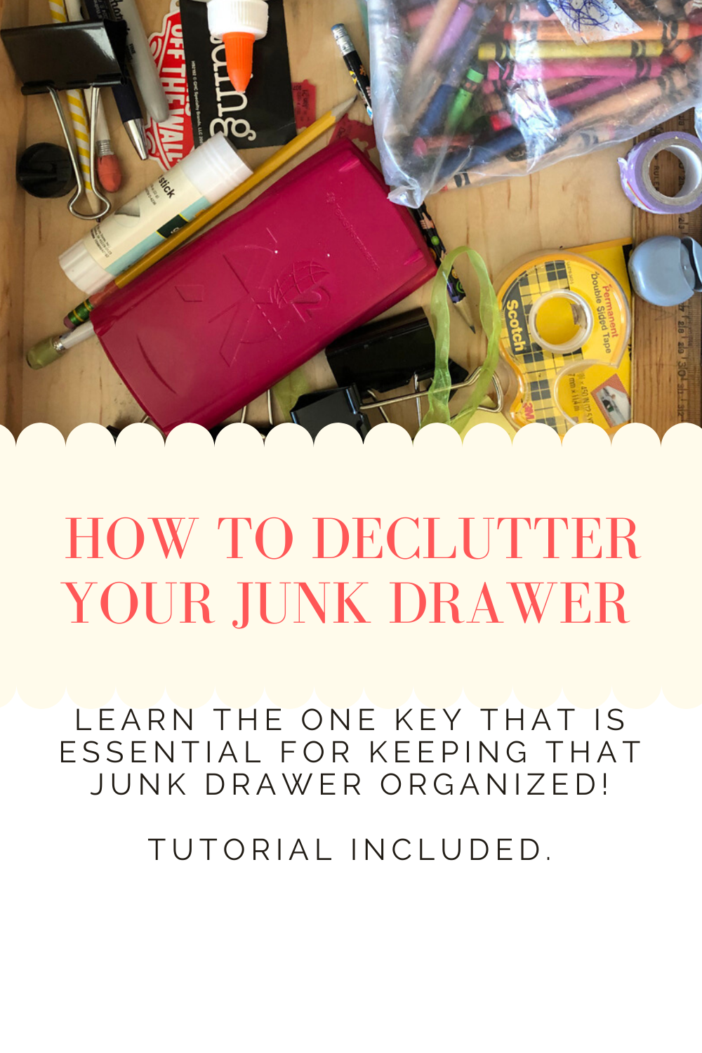 How to Declutter Your Junk Drawer