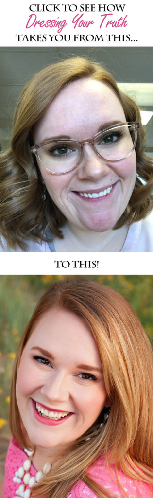 This Dressing Your Truth Type 1 makeover will knock your socks off! See how Dressing Your Truth changed EVERYTHING for Alyssa!