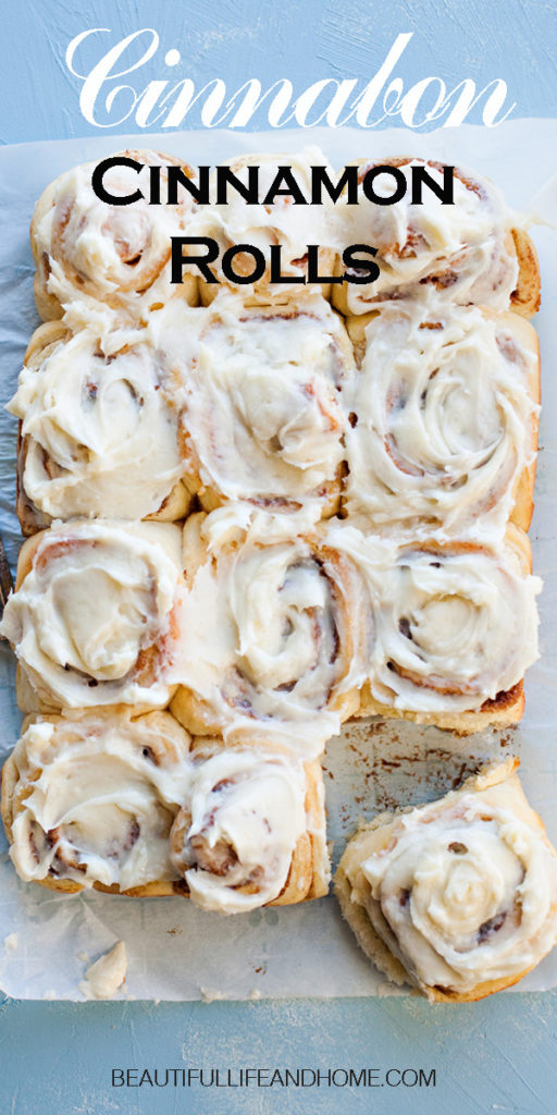 You can make Cinnabon Cinnamon Rolls right at home! Super soft and full of fantastic cinnamon flavor and topped with an amazing cream cheese frosting, these are the perfect cinnamon rolls for Christmas breakfast, Mother's Day, or any day of the year!