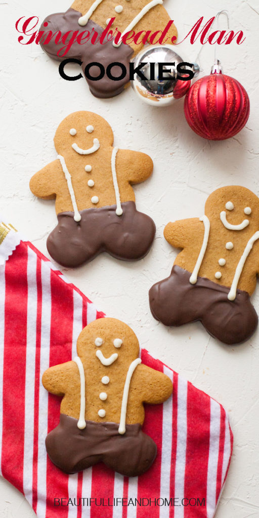 The best, most delicious, soft Gingerbread Man Cookies ever!