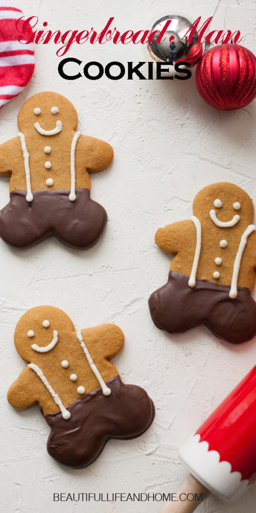 Kneaders Copycat Gingerbread Cookies dipped in chocolate. Super soft and big and delicious!